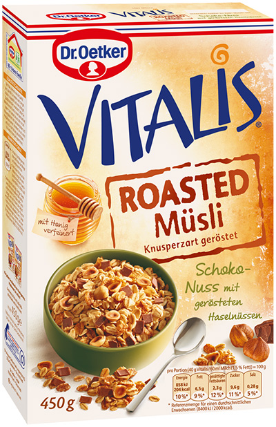Vitalis Roasted Müsli Packung